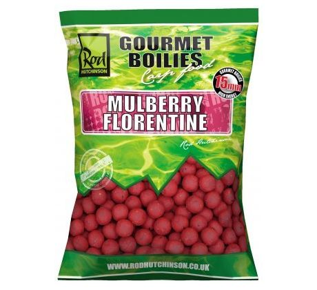 Rod Hutchinson Boilies - Mulberry Florentine with Protaste Plus