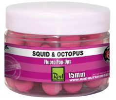 Rod Hutchinson Fluoro Pop-up - Squid Octopus with Amino Blend Swan Mussell