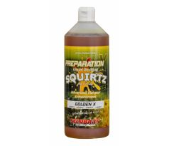 StarBaits Booster PREP X SQUIRTZ 1lt - GOLDEN X
