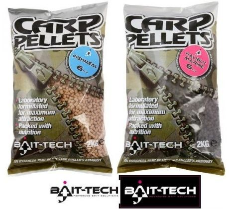 Bait-Tech Pelety Fishmeal Carp Feed Pellets 2kg