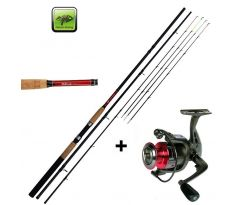 Giants Fishing Prut CLX Feeder TR 12ft Medium + naviják zdarma!