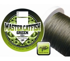 Giants Fishing Splétaná šňůra Master Catfish Green