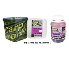 Carp Only Boilie 3kg + DIP Zdarma - ABSOLUT PLUM