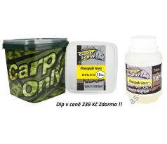 Carp Only Boilie 3kg + DIP Zdarma - PINEAPPLE FEVER