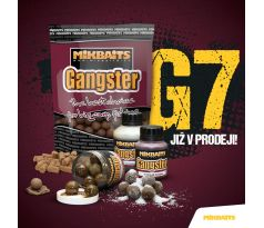 Mikbaits Boilies Gangster G7 - Master Krill 10kg + Booster 250ml a Obalovací pasta Zdarma