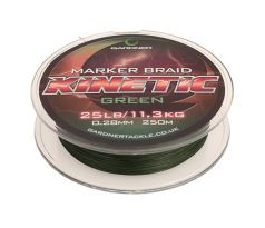 Gardner Splétaná šňůra Kinetic Marker Braid 250m, 25lb (11.3kg) 0.28mm