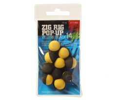 Giants Fishing Pěnové plovoucí boilie Zig Rig Pop-Up yelow-black 10mm,10ks