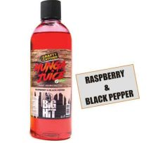 Tekutý posilovač Crafty Catcher Munga Juice 500ml Raspberry & Black Pepper/Malina & Černé koření