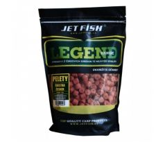Jet Fish Pelety Legend Range 1kg 4mm CHILLI NEW - VÝPRODEJ !!!
