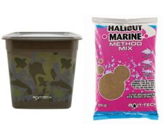 Bait-Tech Camo Bucket Halibut Marine Method Mix 3kg - VÝPRODEJ !!!