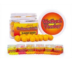 Sportcarp Method Feeder Balanced Boilies 50ml 10mm Sweet Banana