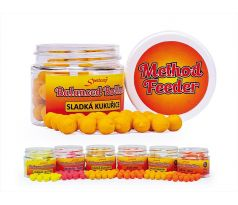 Sportcarp Method Feeder Balanced Boilies 50ml 10mm Sweet Corn