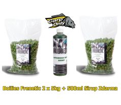 Carp Only Frenetic A.L.T. Boilies JAPANESEE SQUID 2 x 5kg + Sirup JAPANESEE SQUID 500ml