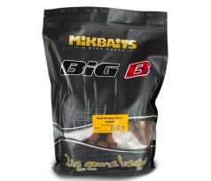 Mikbaits Boilies BiG - BigB Broskev Black pepper