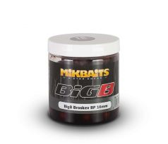Mikbaits Boilies BiG v Dipu 250ml - BigB Broskev Black pepper