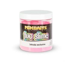 Mikbaits Fluo slime obalovací dip 100g - Jahoda exclusive