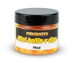 Mikbaits Mini boilie v dipu 50ml - Med