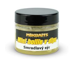 Mikbaits Mini boilie v dipu 50ml - Smradlavý sýr