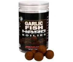 Starbaits Tvrdé boilie Hard Boilies GARLIC FISH 200g
