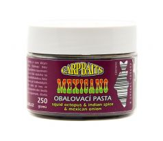 Carpbaits Obalovací pasta MEXICANO 300g - Squid Octopus & Indian Spice & Mexican Onion