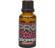 StarBaits Dropper Ochucovadlo 30ml - Probiotic Peach & Mango