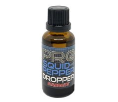 StarBaits Dropper Ochucovadlo 30ml - SQUID & PEPPER