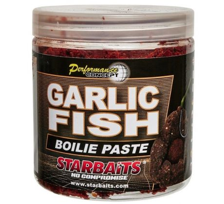 STARBAITS Obalovací pasta GARLIC FISH 200gr