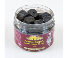 Carpbaits Amino Carp A pellets v dipu 250ml - Fish