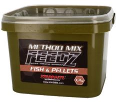 STARBAITS Method Mix Feedz Fish & Pellets 1,7kg