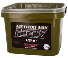 STARBAITS Method Mix Feedz Hemp 1,7kg