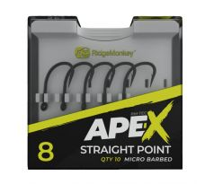 RidgeMonkey Háček Ape-X Straight Point Barbed