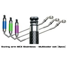 Mivardi Swing arm MCX Stainless - Multicolor set (3pcs)